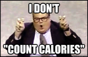 Chris Farley Count Calories