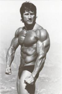 Ectomorph Frank Zane