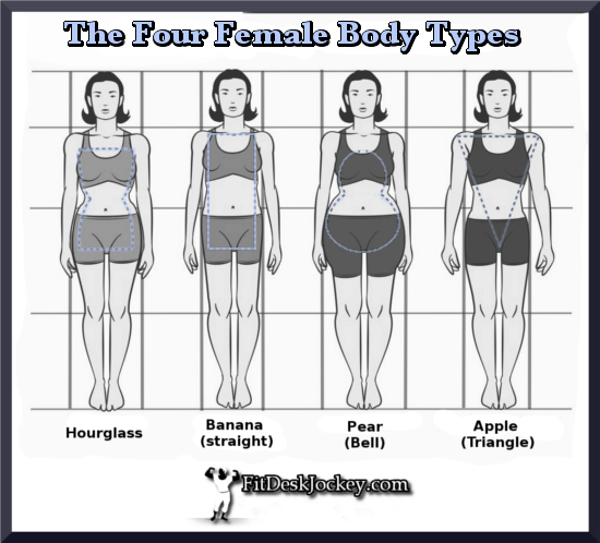 The Four Female Body Types