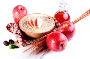 Hot Apple Pie Protein Oatmeal